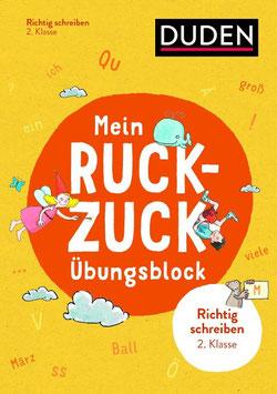 »Mein Ruckzuck-Übungsblock Richtig schreiben 2. Klasse« - Bibliograph. Instit. GmbH