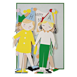 Gratulationskarte  »HAPPY BIRTHDAY« - Meri Meri