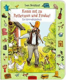 »Komm mit zu Pettersson und Findus! Ein Wimmelbilderbuch«  — Oetinger