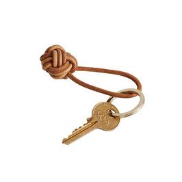 »Lederknoten Schlüsselanhänger«  —OYOY
