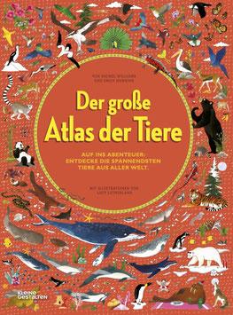 »Der große Atlas der Tiere«  —  Gestalten