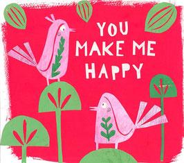 »You make me happy« - FRAUKNOPP