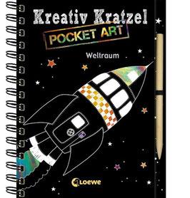 »Kreativ Kratzelbuch - Weltraum« - Loewe