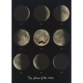 Moon Phases — 50x70cm — OMM Design