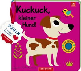 »Mein Filz-Fühlbuch: Kuckuck, kleiner Hund!« - Coppenrath