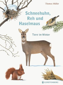 »Schneehuhn, Reh und Haselmaus«  —  Gerstenberg Verlag