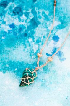 Halskette 'Malachit'