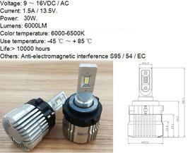 H7 LED  250% mehr Licht fürSEAT Alhambra