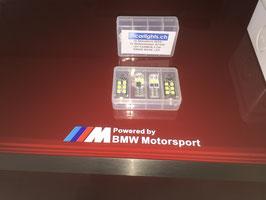 LED SET Standlicht, Kennzeichenlicht Swiss Made W5W, C5W (36mm Soffitten)