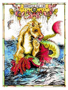 Sea Horse (Art Print)