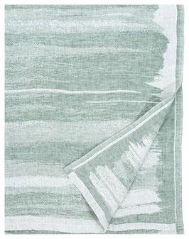 Handtuch JOKI espengrün 100% Leinen 95x180 cm