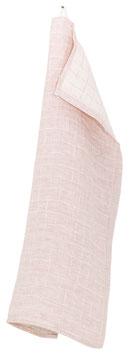 Küchentuch/Handtuch LASTU 35x50 cm rosa-leinen