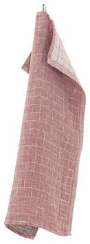 Küchentuch/Handtuch LASTU 35x50 cm rot-leinen