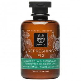 Apivita Showergel Refreshing Fig 300 ml