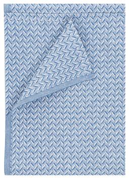Handtuch LEHTI 100% Leinen 75x150 cm blau