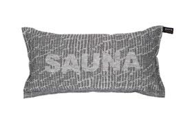 """Saunakissen """"SAUNA"""" von Jokipiin Pellava 22x40 cm"""