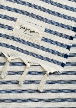Strandtuch TINETTO aus Tencel 200x100cm blue