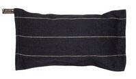 Saunakissen Jokipiin schwarz 22x40 cm