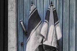 Handtuch Kelohonka grau oder Natur 75 x 150 cm