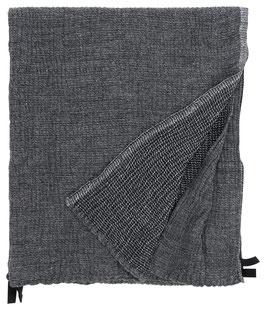 Handtuch NYYTTI in 2 Größen, black-grey