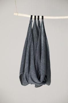 Handtuch NYYTTI in 2 Größen, black-green