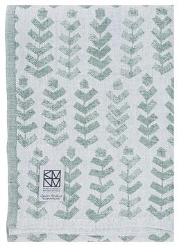 Handtuch RUUSU espengrün 100% Leinen 95x180 cm