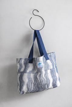 Tasche BALTIC blau-weiß 37x54 cm
