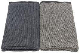Handtuch TERVA graphit 48x70 cm