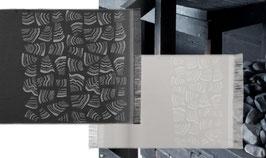 Sauna-Auflage PINO 50x150 cm schwarz oder hellgrau