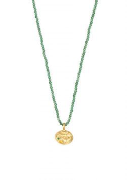 Sealstone Emerald Kette