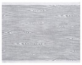 Sauna-Auflage VIILU 60x200 cm weiß-grau