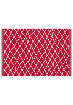 Tischsets ESKIMO rot-weiß  48x32 cm