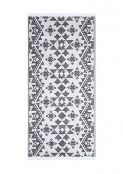Strandtuch MARRAKESCH 200x100cm black-white