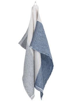 """Handtuch """"TERVA"""" natur-grau-blau, S/M/XL"""
