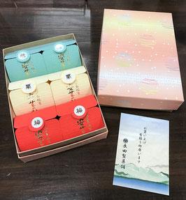 長田製菓舗 安芸の詩(梅・栗・桃 各2)