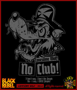 ":: NO CLUB! :: ""Lonesöme Wolf!"""