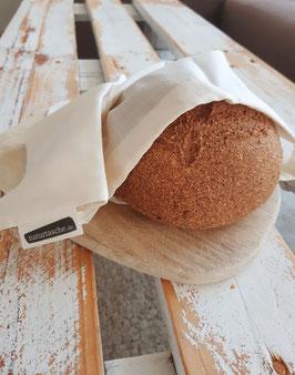 Brotbeutel aus feinster Bio-Baumwolle