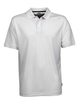RS Herren Poloshirt (Weiß)