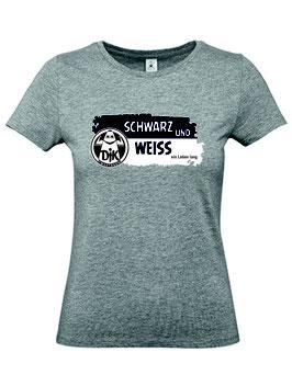 T-Shirt Damen - Schwarz und Weiss