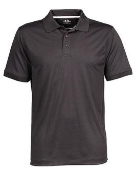 RS Herren Poloshirt (Schwarz)