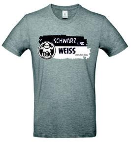 T-Shirt Herren - Schwarz und Weiss