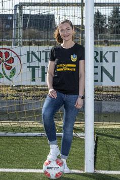T-Shirt Damen - Black and Yellow