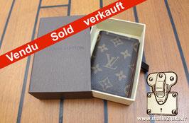 Organizer de poche Louis Vuitton toile enduite