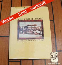 Livre La malle aux souvenirs - Henry Vuitton - ENGLISH Version