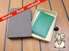 Porte-cartes Louis Vuitton cuir epi