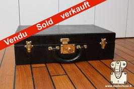 Valise en cuir de maroquin Louis Vuitton 1925