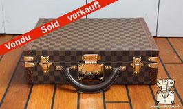 Valise damier Louis Vuitton
