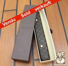 Etui souple a bijoux mini monogram Louis Vuitton de voyage
