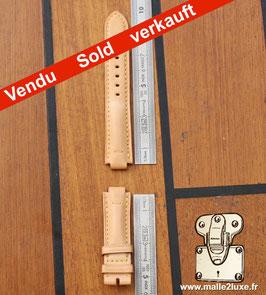 Bracelet montre cuir Louis Vuitton VVN femme