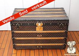 Malle courrier Louis Vuitton Moresque - Scribe